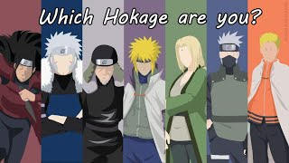 WHICH HOKAGE ARE YOU? | Naruto Test