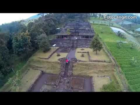 Mesmerizing Aerial View of Cetho Temple #BeautyofJava