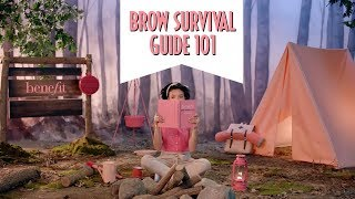 Brow Survival Guide 101   how to perfectly shape and fill your brows