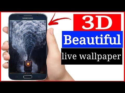 3D Beautiful Live Wallpaper Set Your Phone