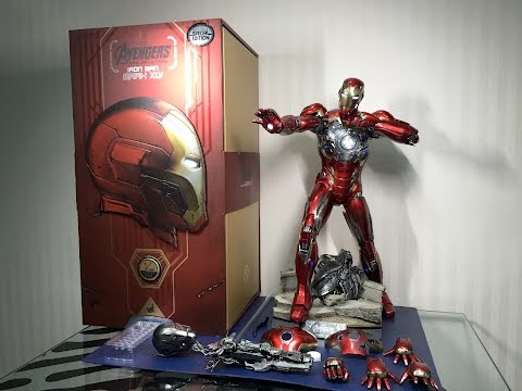 1/4 scale MARK 45 by Hot Toys from Avengers 2: Age of Ultron