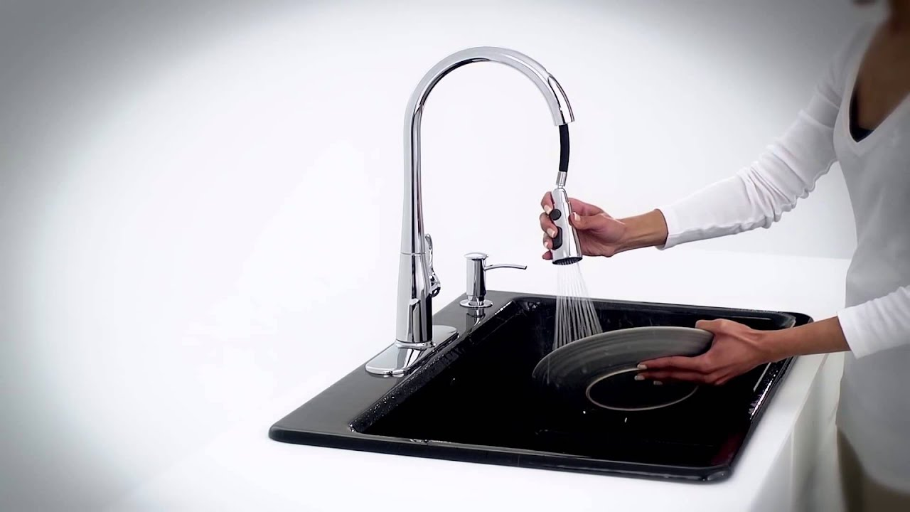 Kohler Kitchen Faucets Simplice simplice kitchen faucetkohler - youtube