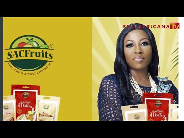 Afie Braimoh-Giwa founder SACFruits Interview on Bellafricana TV Episode 5