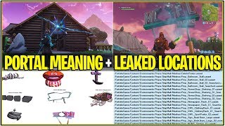 *NEW* Fortnite: ALL TIME WARPS/PORTALS MEANING AND LEAKED NEXT LOCATIONS! | (NEW POI Coming!)