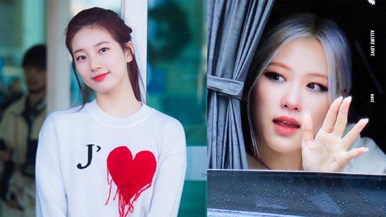Rosé (BLACKPINK) suddenly shed tears in front of fans | Rose Suzy dating viral