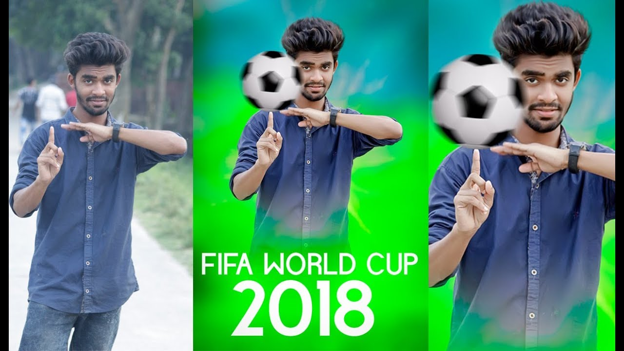 FIFA World Cup 2018 | fifa lovers photo design | photoshop tutorial