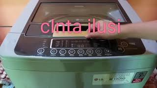 Cara menggunakan mesin cuci bukaan atas - Mesin Cuci LG Turbo Drum TS81VM