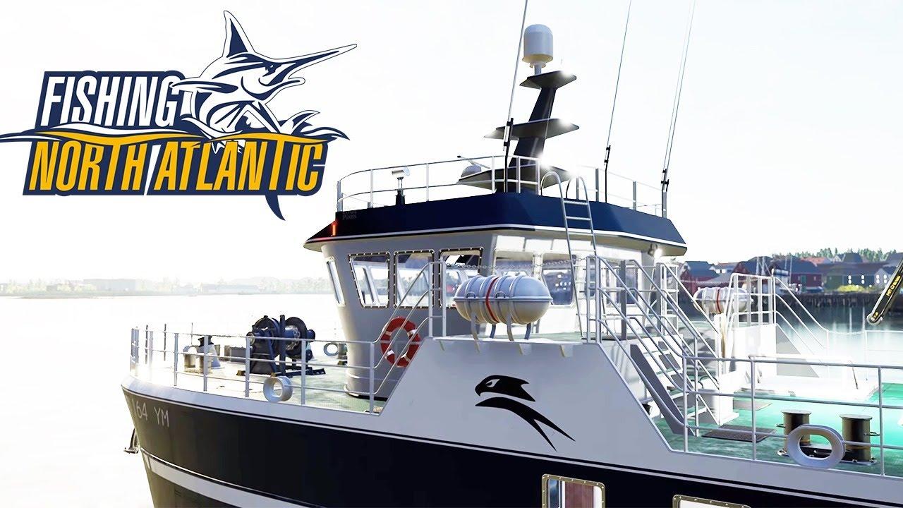 СИМУЛЯТОР КОММЕРЧЕСКОЙ РЫБАЛКИ - Fishing: North Atlantic (стрим) #1