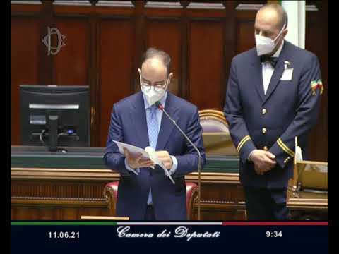 Roma - Camera - 18^ Legislatura - 521^ seduta (11.06.21)