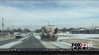 School cancellations help keep Broken Arrow roads clear