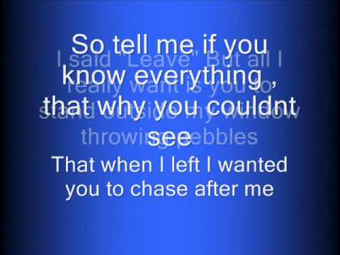 The other side of the door - Taylor Swift Lyrics HQ.wmv
