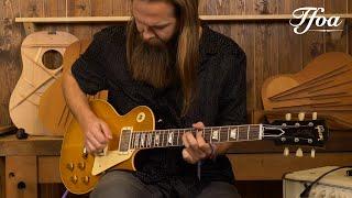 Gibson 1958 Les Paul Standard Reissue VOS Lemon Burst played by Leif de Leeuw   Demo @ TFOA