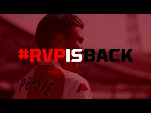 #RVPISBACK | Robin van Persie keert terug bij Feyenoord