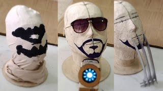 #74: Last-Minute DIY Halloween Ideas - Tony Stark, Rorschach & Wolverine | How To | Dali DIY