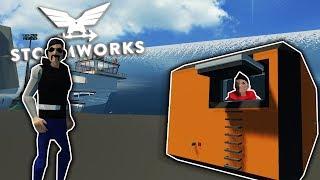 TSUNAMI BUNKER TESTING SURVIVAL! - Stormworks Multiplayer Gameplay - Tsunami Simulator