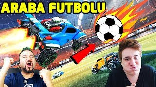 ARABALARLA FUTBOL OYNAMAK! | EMRECAN İLE ROCKET LEAGUE