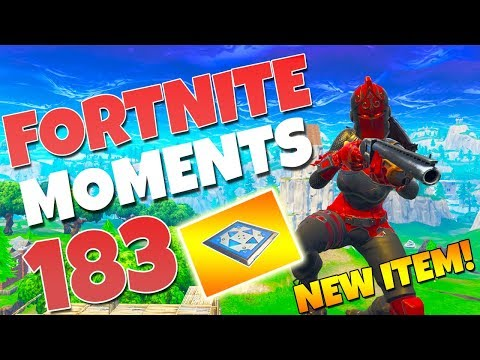 THE *NEW* BOUNCER PAD IS AMAZING!! (TRY THIS NEW TRICK!) | Fortnite Funny Moments #183 thumbnail