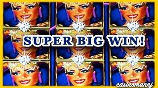 RHYTHM OF RIO & THE NYMPH **SUPER BIG WIN** - Slot Machine Bonus