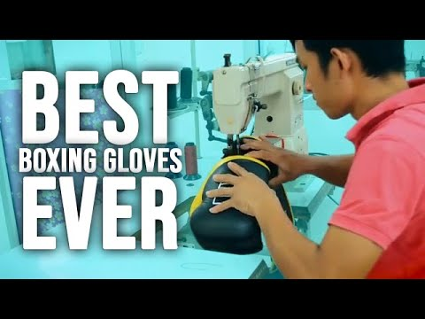 See Our HMIT Boxing Gloves Being Produced By Hand In Bangkok Thailand