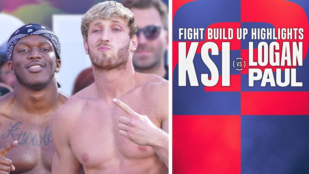 Logan Paul vs. KSI 2 live updates, round-by-round results, highlights ...