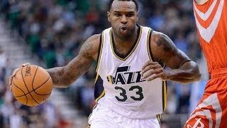 Trevor Booker Jazz 2015 Season Highlights