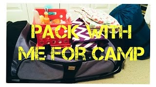 Pack With Me For Camp!