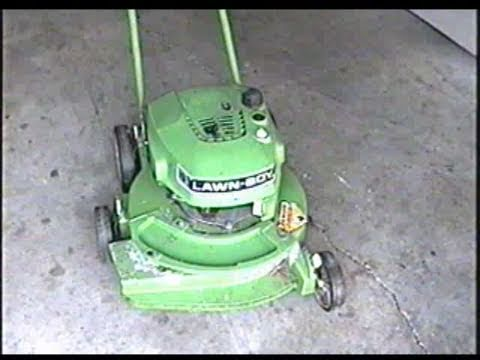 Carburetor Cleaning on Lawn-Boy Lawnmower