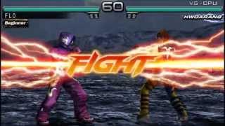 Tekken Dark Resurrection PsP Gameplay [RemoteJoyLite]