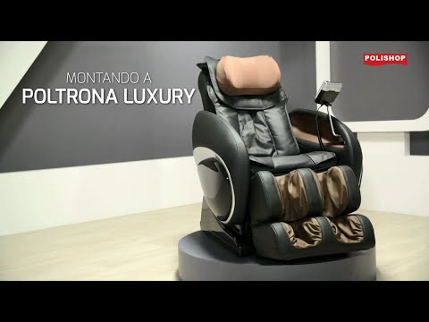 Poltrona Design Shiatsu Relaxmedic.Poltrona Luxury Polishop Tutorial Como Montar