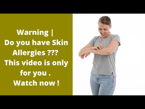 4 types of skin allergies | What are the symptoms and remedies?