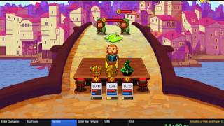 Knights of Pen and Paper 2 (53:39) Speedrun