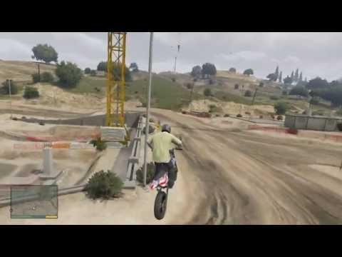 Gta 5 - Amazing Dirt Bike Racetrack! (+Location & Gameplay)