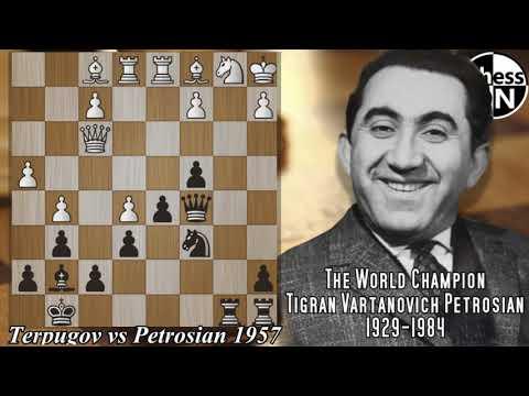 Best Chess Games Ever!! Terpugov vs Petrosian 1957