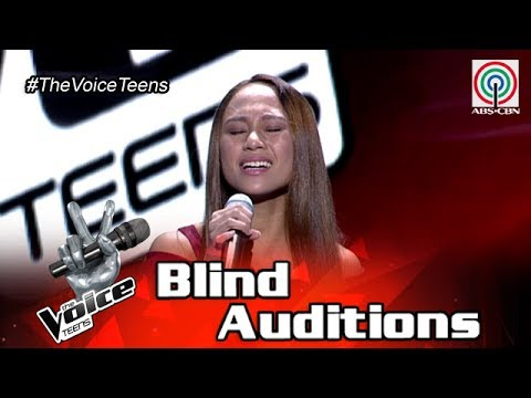The Voice Teens Philippines Blind Audition: Fritzy Eluna - Almost Is Never Enough