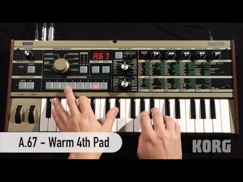 Korg MicroKORG Synthesizer And Vocoder Overview | Full Compass