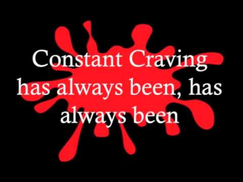 Constant Craving - K D Lang Lyrics