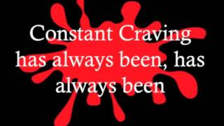 Constant Craving - K D Lang Lyrics