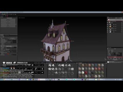 """Art Livestreams - EP 20 """" Texturing Luthrainian Houses """""""
