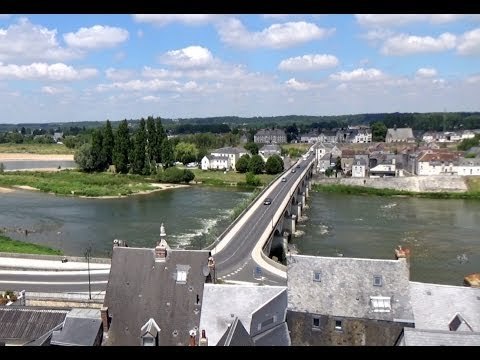 Loire river, Amboise, Centre, France, Europe