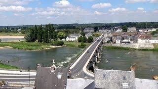 Loire river, Amboise, Centre, France, Europe