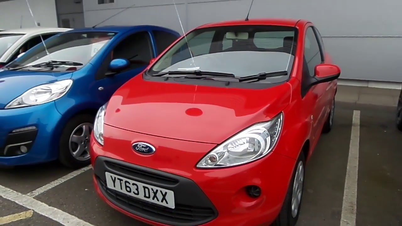 Ford Ka  Dr Start Stop In Red