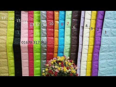 Sỉ xốp dán tường – thi công xốp 3d tại  Hà Nội , TPHCM giá rẻ nhất từ 13k – Cách dán xốp lên tường