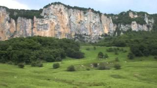 Ахмет-скала и Большая Лаба. 13.06.2015.