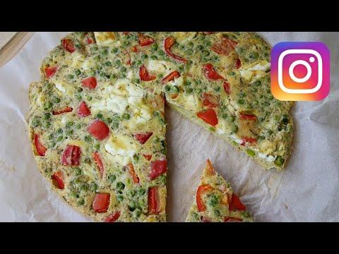 quiche-sans-pâte-:-poivron,-petits-pois-&-feta---les-classiques-d'instagram-#3