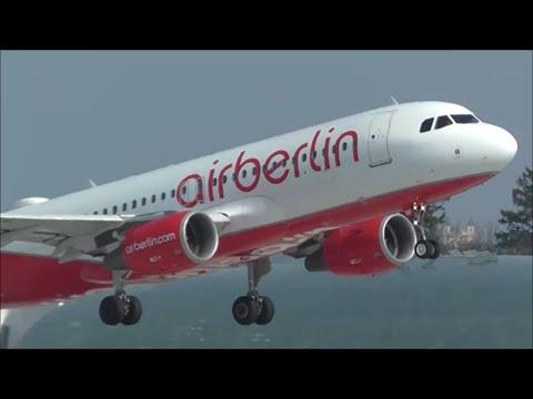 Incredible Planespotting at Salzburg Airport! - Beautiful Spring Day | 19/03/16