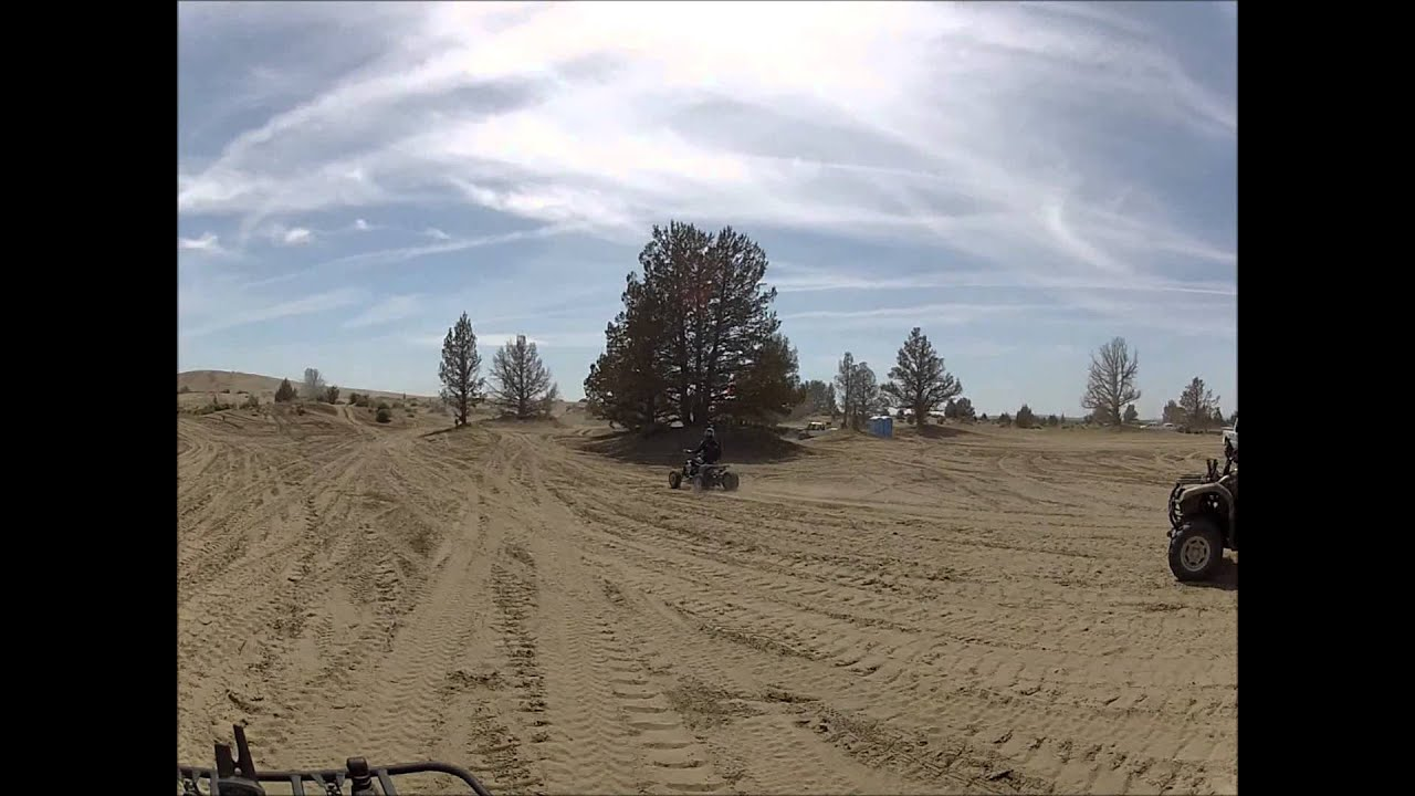 Christmas Valley Sand Dunes 2014 - YouTube