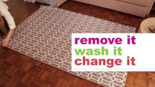 Ruggable Washable Area, Accent, Runner Rugs