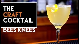 🐝🐝 How To Make The Bees Knees Cocktail | Easy Gin Cocktails thumbnail