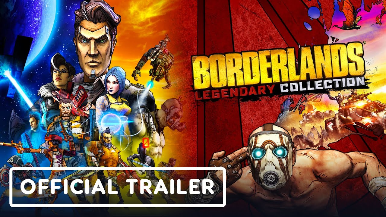 Borderlands Legendary Collection - Official Nintendo Switch Launch Trailer - IGN