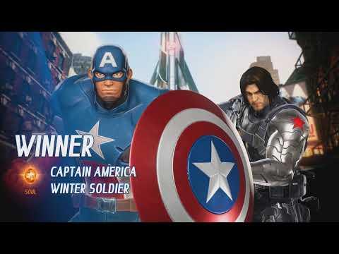 Captain America VS Iron Man (Civil War) - Marvel VS Capcom Infinite |